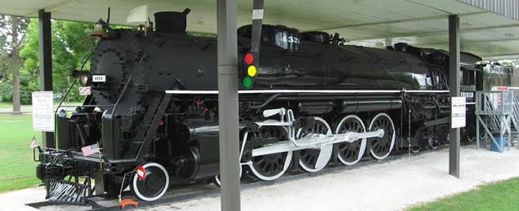 Train at the Museum