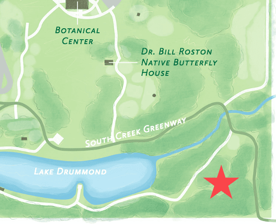Peace Garden Tour Map