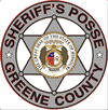 Greene County Sheriff's Posse Badge