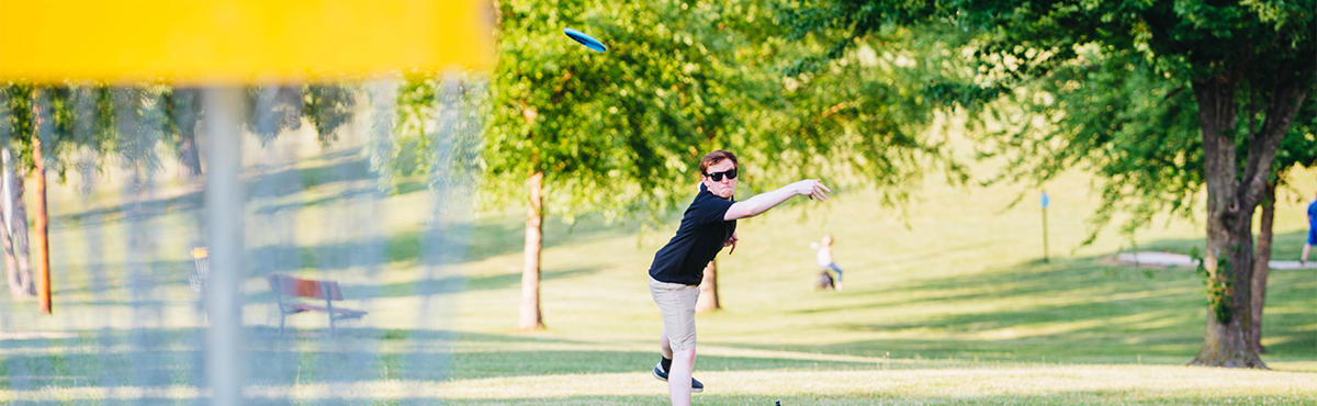 Disc Golf Header