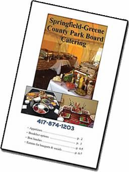 Springfield-Greene County Park Board Catering Brochure Cover
