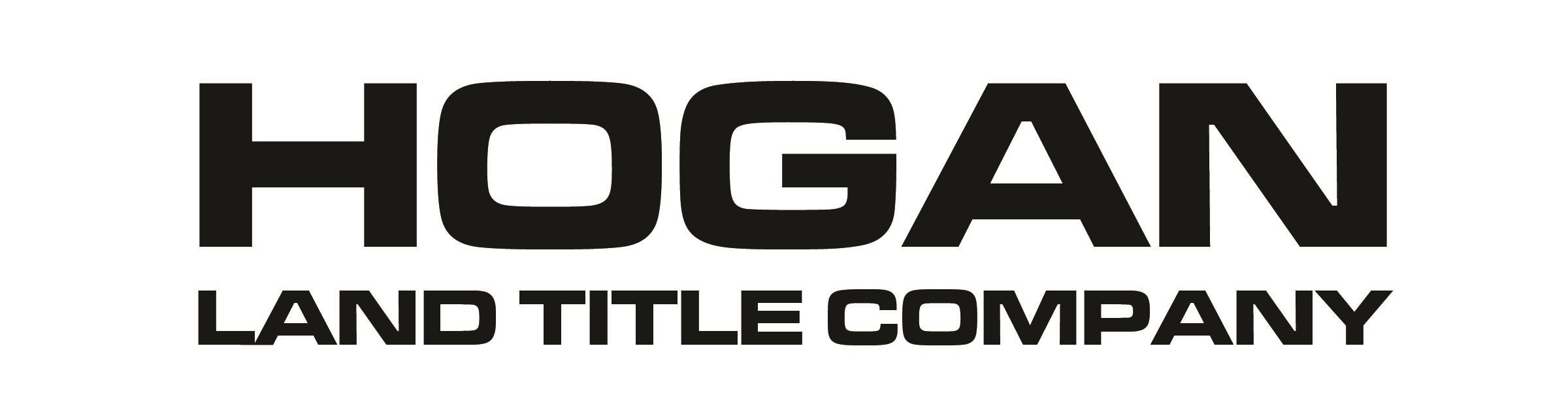HOGAN LAND TITLE COMPANY black