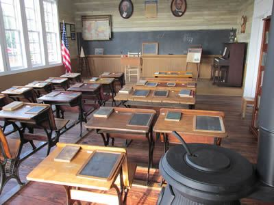 Gray-Campbell Farmstead - Inside Liberty School 2