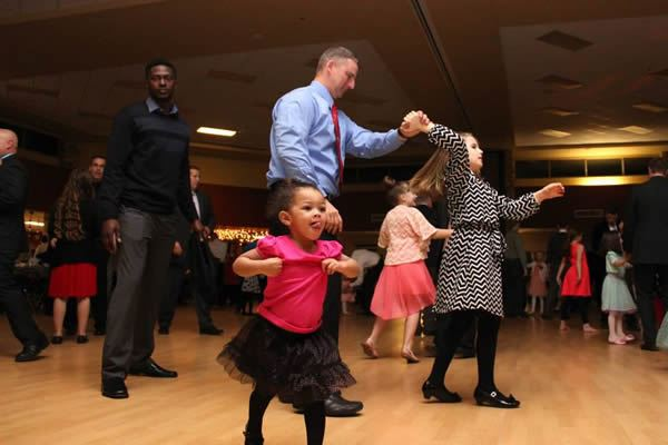 Frozen in Time 2015 Daddy Daughter Dance 10
